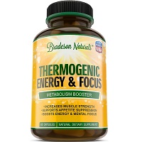 Bradeson Naturals Thermogenic Energy & Focus Review